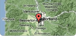 Oregon State Bar location Map