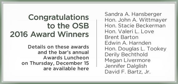 OSB Awards Luncheon
