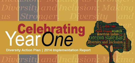Diversity Action Plan: Year One
