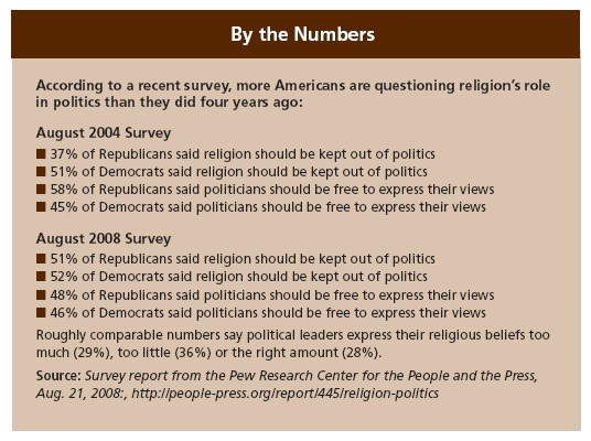 why religion should be kept out