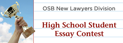 oregon state bar essay contest State bar of texas law student division  2018 essay contest entry form (please print).