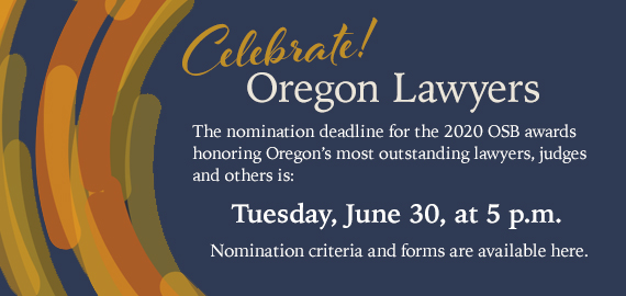 Celebrate Oregon Lawyers