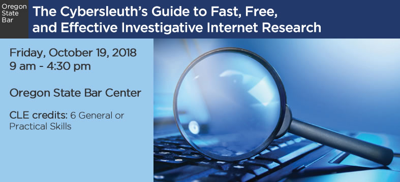 The Cybersleuth's Guide to Fast, Free, and Effective Investigative Internet Research