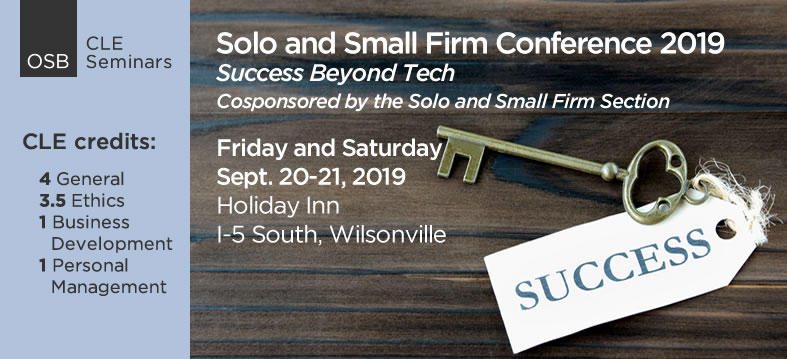 Solo and Small Firm Conference