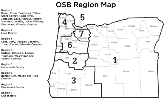 How Many Delegates Per State Map.Welcome To The Oregon State Bar Online