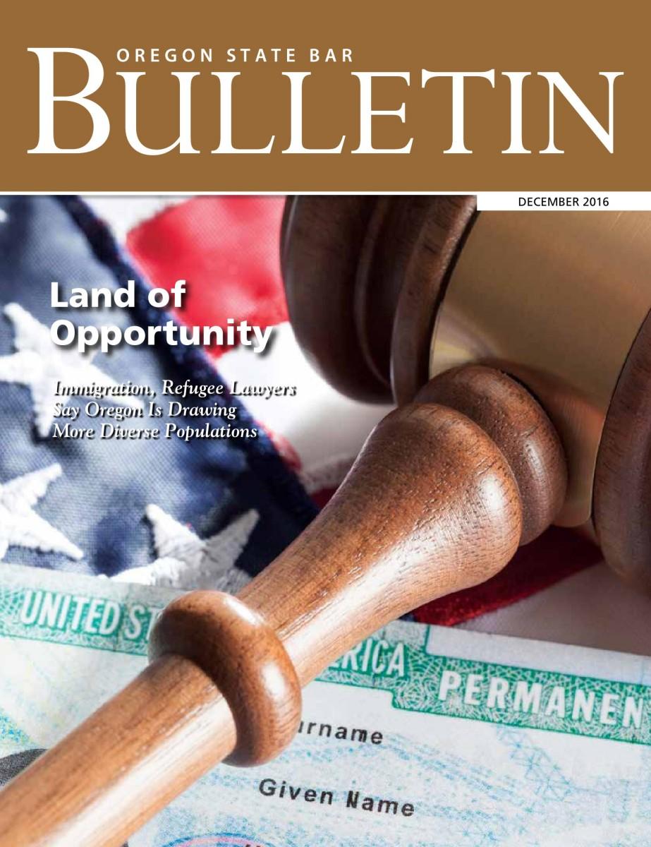 buy popular c75e7 1f8f8 Oregon State Bar Bulletin Magazine